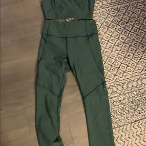 Outdoor Voices Other - Outdoor voices Green set size small worn once
